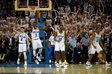 NCAA Basketball: Oregon at UCLA